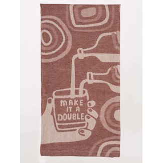 Blue Q Blue Q Dish Towel - Make It A Double