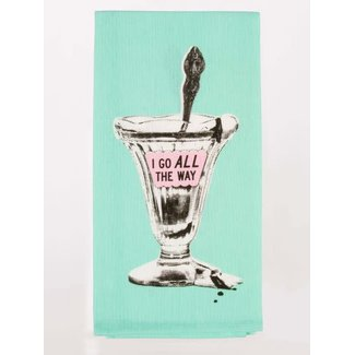 Blue Q Blue Q Dish Towel - I Go All The Way