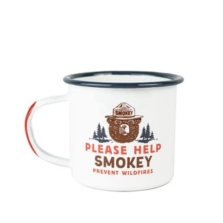 The Landmark Project The Landmark Project Smokey Bear Enamelware Mug