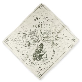 The Landmark Project The Landmark Project Protect Our Forests Bandana