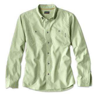 Orvis Orvis Men's Outsmart Long Sleeved Tech Chambray Shirt