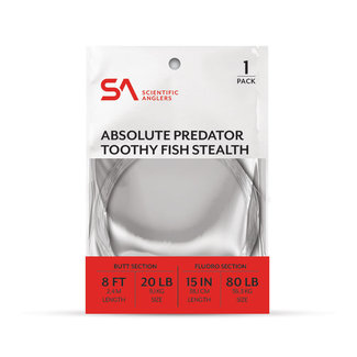 Scientific Anglers Scientific Anglers Absolute Predator Toothy Fish Stealth 8' 80Lb