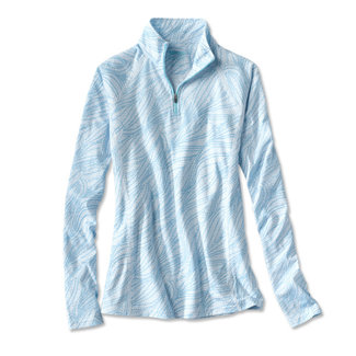 Orvis Orvis Women's Printed Drirelease Quarter-Zip
