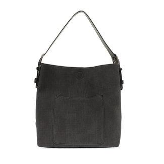 Joy Susan Joy Susan Faux Linen Hobo Handbag