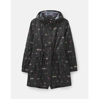 Joules Joules Women's Golightly Printed Waterproof Packaway Jacket