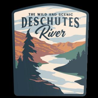 The Landmark Project The Landmark Project Deschutes River Sticker
