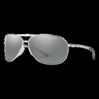 Smith Optics Smith Serpico 2 Silver with ChromaPop Polarized Platinum Lenses