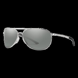 Smith Optics Smith Serpico Slim 2 Silver with ChromaPop Polarized Platinum Lenses