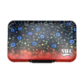 Montana Fly Company MFC Poly Fly Box - Sundell's Brook Trout Skin