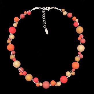 PMA Necklace Twist Medium Rust