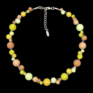PMA Necklace Twist Medium Olive