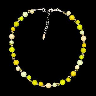 PMA Necklace Twist Small Neon Green