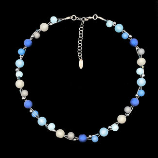 PMA Necklace Twist Small Winter Powder Blue