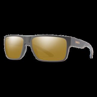 Smith Optics Smith Soundtrack Matte Gravy with ChromaPop Polarized Bronze Mirror Lenses