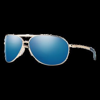 Smith Optics Smith Serpico 2 Gold with ChromaPop Polarized Blue Mirror Lenses