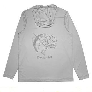 Orvis Orvis Men's Sun Defense Painted Trout Logo Long-Sleeved Hoodie