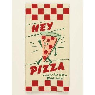 Blue Q Blue Q Dish Towel - Hey Pizza, Lookin' Hot Today