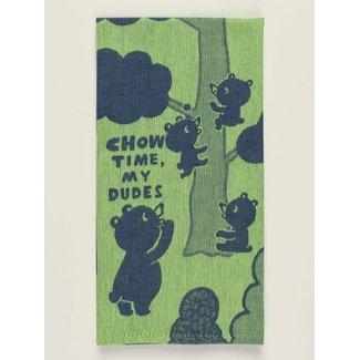 Blue Q Blue Q Dish Towel - Chow Time, My Dudes