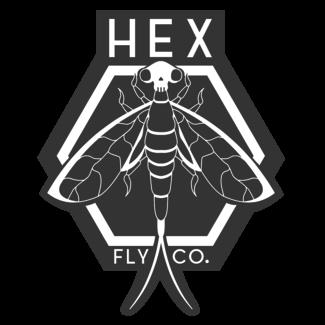Hex Fly Co. Hex Fly Co. Logo Sticker