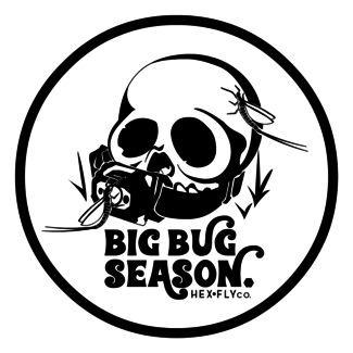Hex Fly Co. Hex Fly Co. Big Bug Season Sticker