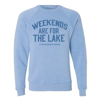 Unsalted Coast Unsalted Coast Weekends Crewneck Sweatshirt