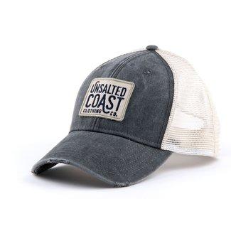 Unsalted Coast Unsalted Coast Logo Patch Trucker hat