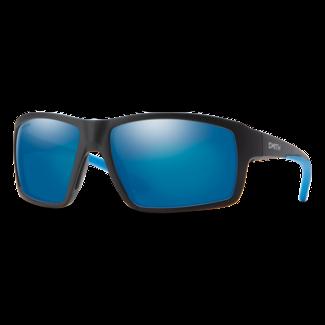 Smith Optics Smith Hookshot Matte Black with ChromaPop Polarized Blue Mirror