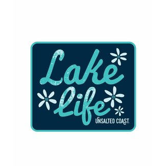 Unsalted Coast Unsalted Coast Lake Life Sticker