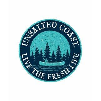 Unsalted Coast Unsalted Coast Canoe Sticker