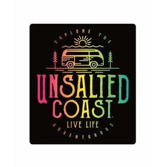 Unsalted Coast Unsalted Coast Explore Van Sticker
