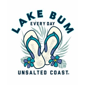 Unsalted Coast Unsalted Coast Lake Bum Sticker