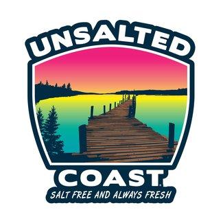 Unsalted Coast Unsalted Coast Dock Sticker