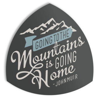 The Landmark Project The Landmark Project Going to the Mountains Sticker