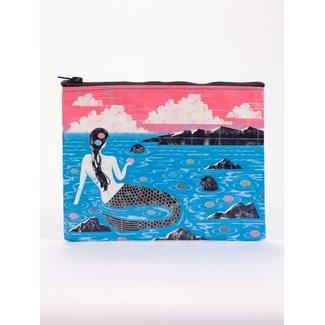 Blue Q Blue Q Zipper Pouch - Mermaid