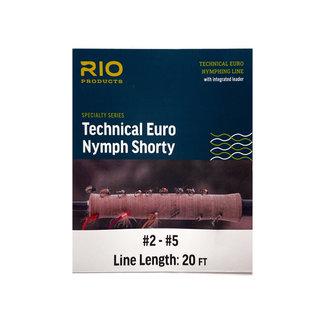 RIO RIO Technical Euro Nymph Shorty Fly Line #2-#5