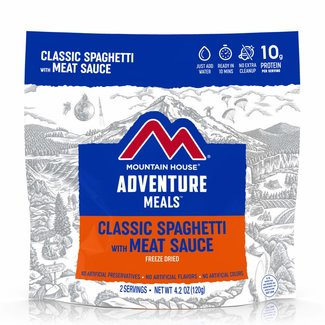 Mountain House Mountain House Entrees Classic Spaghetti with Meat Sauce Pouch