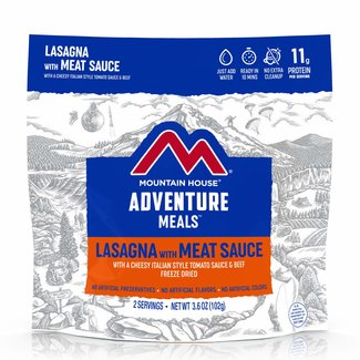 Mountain House Mountain House Entrees Lasagna with Meat Sauce Pouch