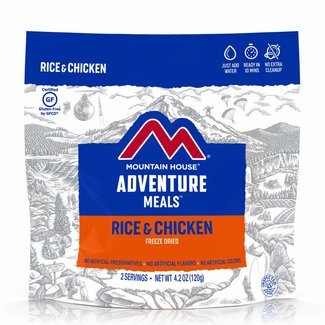 Mountain House Mountain House Entrees Rice & Chicken Pouch