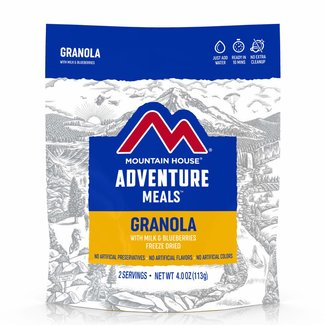Mountain House Mountain House Breakfast Granola with Milk and Blueberries Pouch