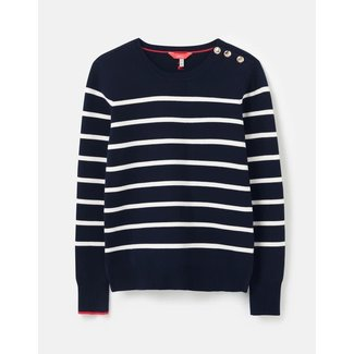 Joules Joules Women's Portlow Sweater with Button Shoulder