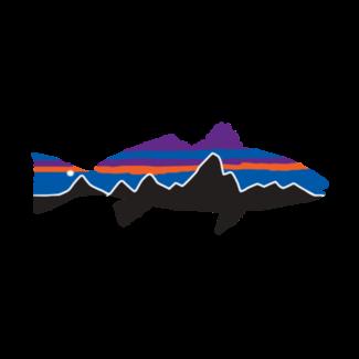 Patagonia Patagonia Fitz Roy Redfish Sticker