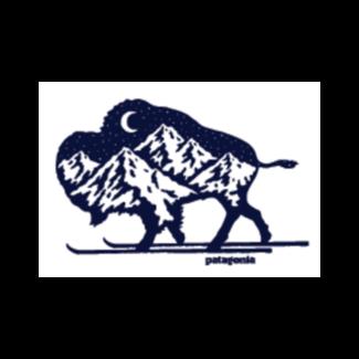Patagonia Patagonia Nordic Bison Sticker