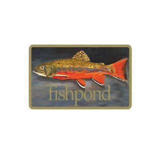 Fishpond Fishpond Brookie Sticker
