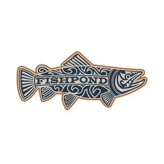 Fishpond Fishpond Maori Trout Sticker