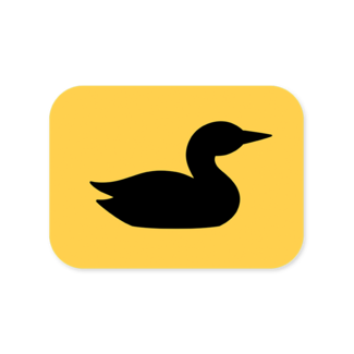 Loon Outdoors Loon Icon Sticker
