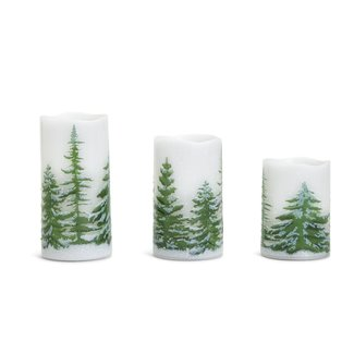 Two's Company Two's Company Pillar Candle Flickering LED Lights