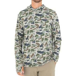 Free Fly Free Fly Men's Print Bamboo Crossover Hoody