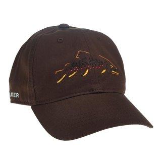 RepYourWater RepYourWater Minimalist Brown Trout Unstructured Hat