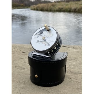 Hardy Fly Fishing Hardy Wide Spool Perfect Reel 3⅛  Charles Jardine Brook Trout