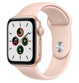 Apple Apple Watch SE 44mm Gold Alu Pink Sand Sport Band